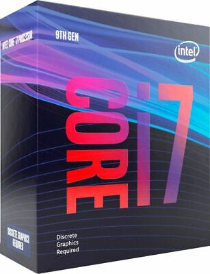Intel - Core i7-9700F 9th Generation 8-core - 8-Threads 3.0 GHz (4.7 GHz Turb...
