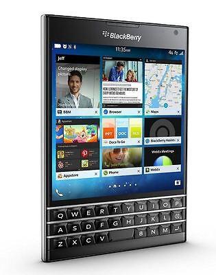 BlackBerry Passport 32GB Black (GSM Unlocked) T-Mobile AT&T Smartphone