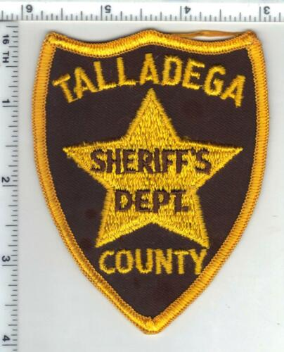 Talladega County Sheriff (Alabama) 1st Issue Shoulder Patch