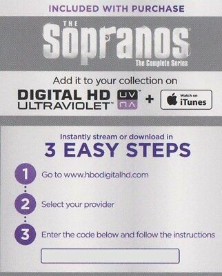 The Sopranos The Achieve Series Digital HD Ultraviolet iTunes