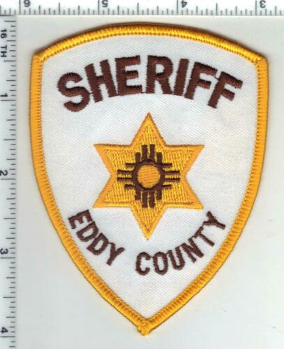 Eddy County Sheriff (New Mexico) 3rd Issue Shoulder Patch