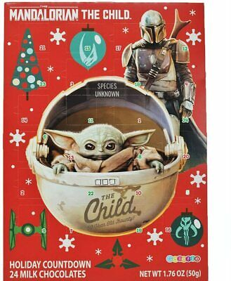 NEW! Star Wars Mandalorian The Child Baby Yoda Advent Christmas Holiday Calendar