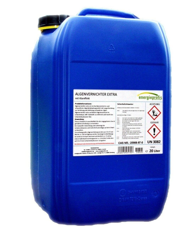 20 Liter Algenvernichter Algenex Algizid Pool Schwimmbad Wasserpflege