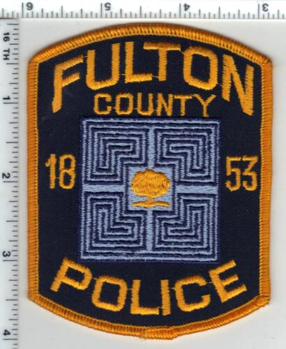 Fulton County Police (Georgia) 1st Issue Shoulder Patch