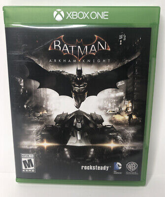 Batman: Arkham Knight (Microsoft Xbox One, 2015) Adult Owned Tested