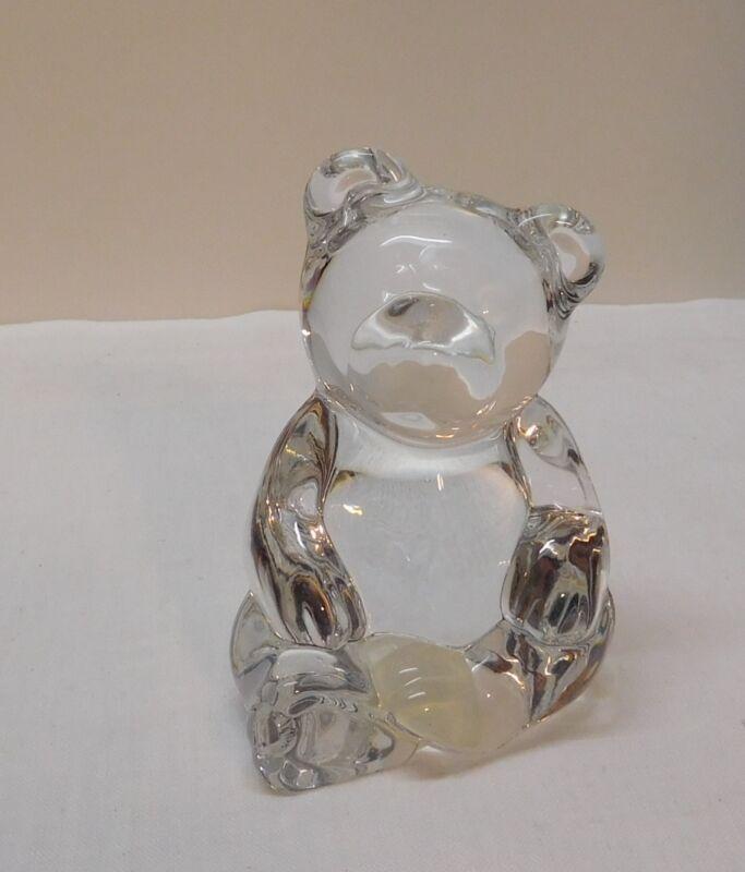 Bear Crystal Figurine Pets Germany 24% Lead Crystal