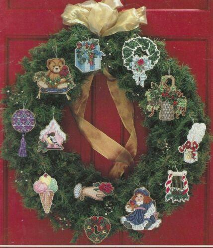 VICTORIAN CHRISTMAS TREASURES VI-12 Ornament Design-Counted Cross Stitch Pattern