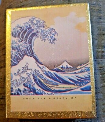 Vintage Antioch 44 Book Plates From the Library of Waves Unused Gummed USA
