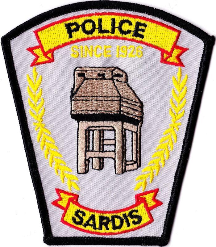 Sardis Police Patch Georgia GA