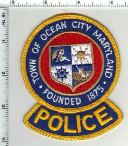 Town of Ocean City Police (Maryland) uniform take-off 1st Issue shoulder patch