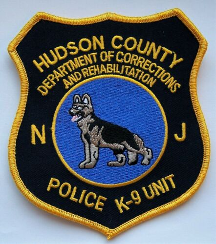 HTF Hudson County NJ Corrections Police K9 Unit Patch