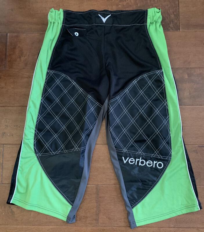 Verbero Junior Roller Hockey Pants XS Black/Green