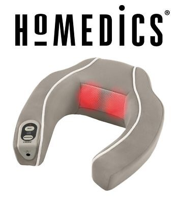 Homedics Nmsq 210 Neck   Shoulder Massager With Heat Ergo Comfort Design   New