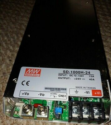 Mean Well Dc-dc Switching Power Supply Sd-1000h-24
