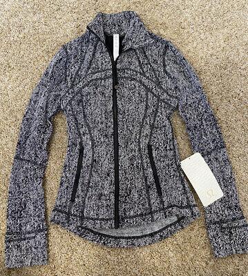 NWT Lululemon Women's Define Jacket Size 2! Zip Front.  Retail $118.00