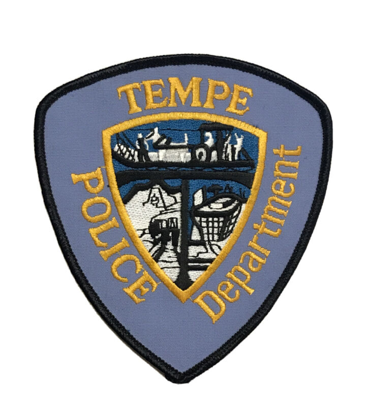 Vintage Tempe Police Department Arizona Police Patch - AZ