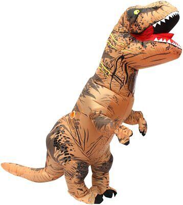 T- Rex Costume dinosauro gonfiabile per Adulti T-Rex alto 220 cm