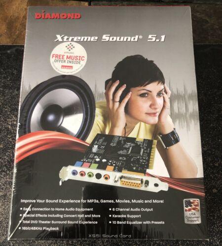 Diamond Xtreme Sound PCI  Sound Card Includes Audacity Editi