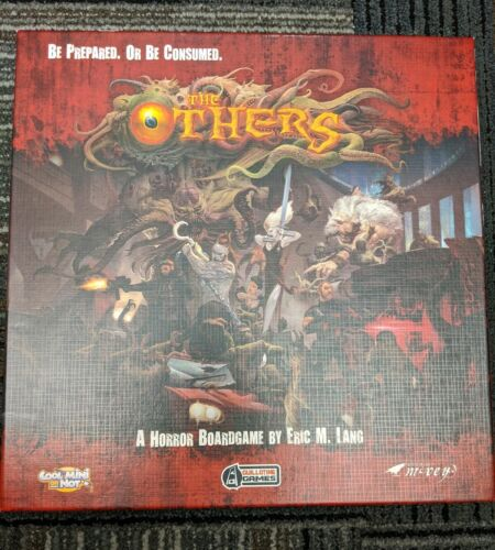 The Others 7 Sins Lust Expansion Strategy Interactive Board Game CMON SSN002