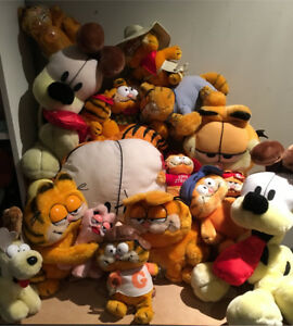 Giant Garfield Vintage Plush Lot