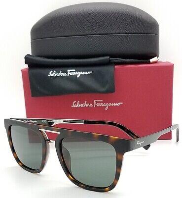 NEW Salvatore Ferragamo sunglasses Matte Tort Grey SF879 213 53mm AUTHENTIC (Tort Sunglasses)