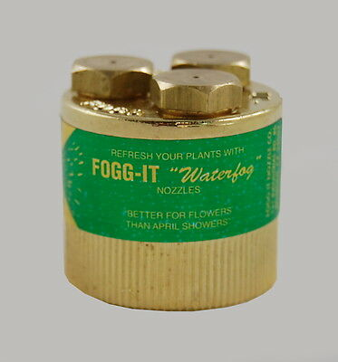 Fogg-It Nozzle - Superfine 1/2 GPM - Gentle Misting/Fog - Free Shipping $12.95