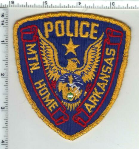 Mountain Home Police (Arkansas) 1st Issue Uniform Take-Off Shoulder Patch
