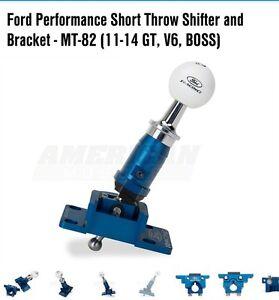 Ford racing short shifter and bracket 11-14 musgang