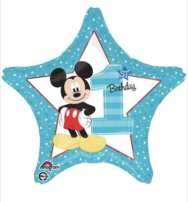 Mickey Mouse 1st Birthday Decorations (Mickey Mouse 1st Birthday 18