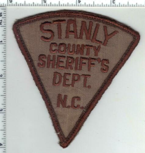 Stanly County Sheriff (North Carolina) 1st Issue Uniform Take-Off Patch