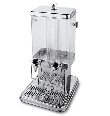 Fagor SERV2-E Gastro Getränkespender Saftspender Saft-Dispenser 2x5L Edelstahl