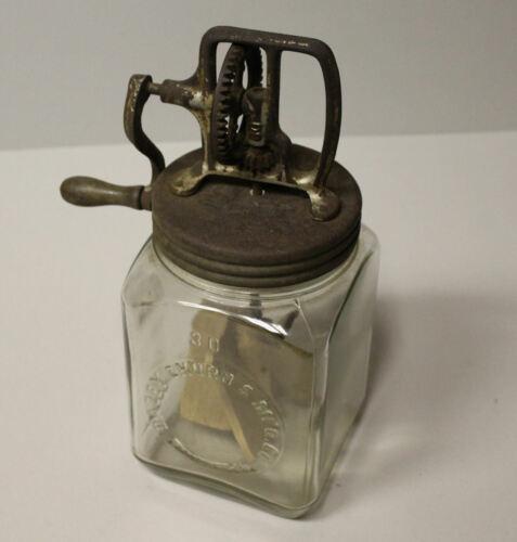Antique Dazey 3 Quart Butter Churn Number 30