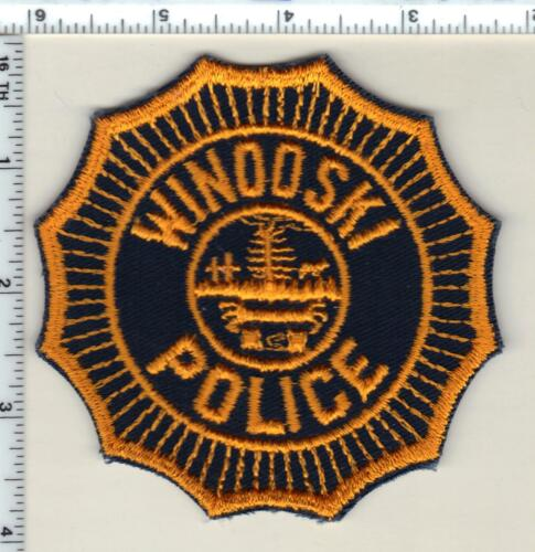 Winooski Police (Vermont) Shoulder Patch from the Early 1980