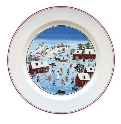VILLEROY & BOCH Naif Christmas Dinner plates (Set of 6)