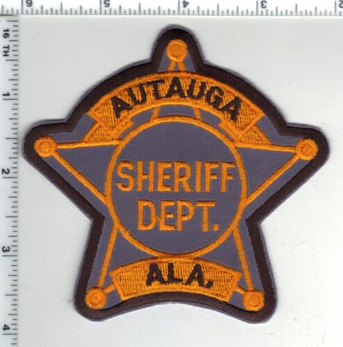 Autauga County Sheriff (Alabama) 3rd Issue Shoulder Patch