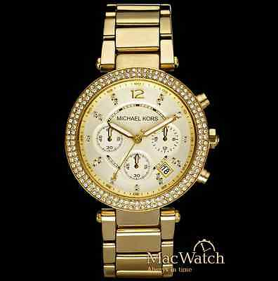 Michael Kors Damen Uhr MK5354 Chronograph Edelstahl NEU OVP