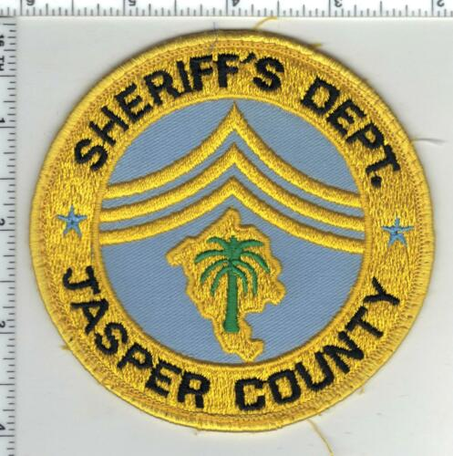 Jasper County Sheriff (South Carolina) 2nd Issue Uniform Take-Off Patch