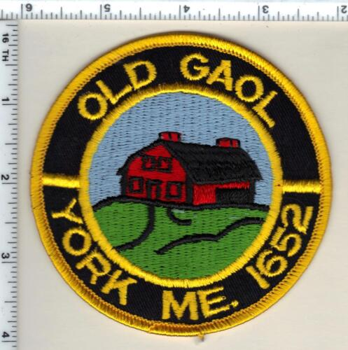 Old Gaol Police (Maine) Shoulder Patch - new from 1992