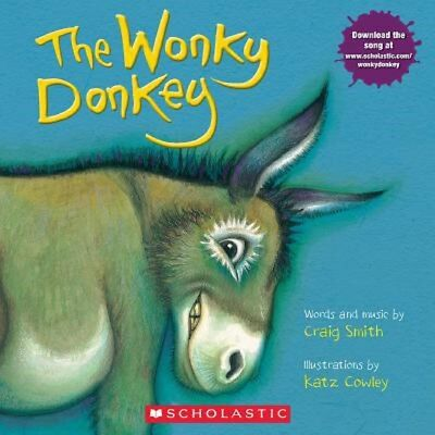 The Wonky Donkey w/ Downloadable Song by Craig Smith - BRAND NEW!