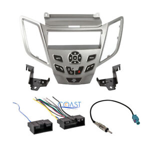 ford fiesta radio metra car radio stereo silver dash kit harness antenna for 2011 up ford fiesta