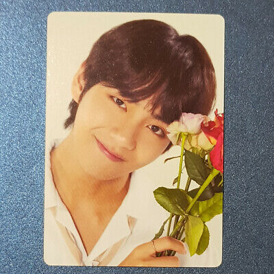 V - Official Mini Photocard BTS Love Yourself World Tour