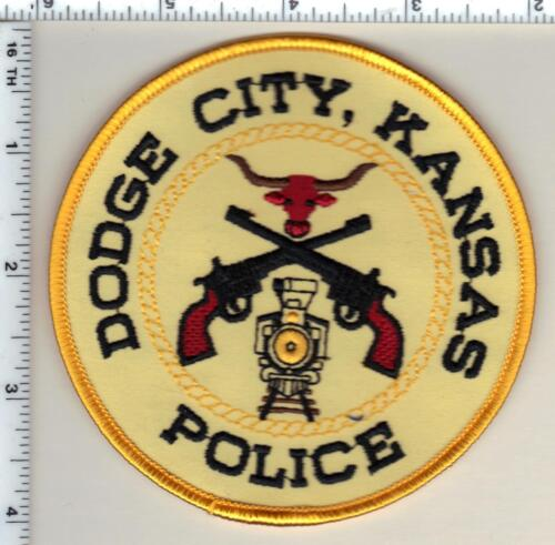 Dodge City Police (Kansas) 1st Issue Shoulder Patch