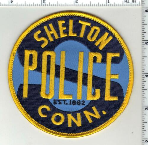 Shelton Police (Connecticut) 4th Issue Shoulder Patch