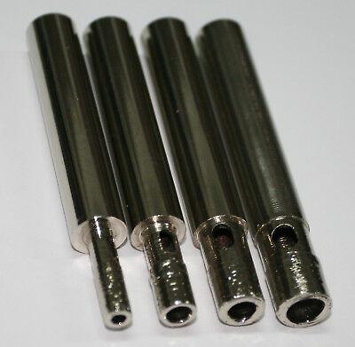 BROCAS PARA PORCELANICO Y CRISTAL 4 unidades de 10mm + kit Guia-Refrigeracion