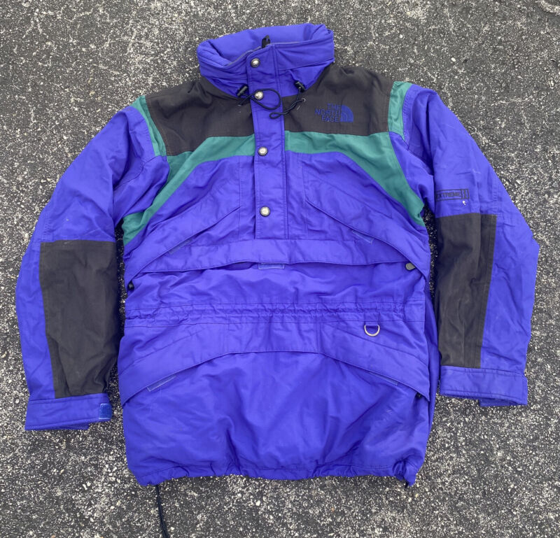 Vintage 90s The North Face Extreme Heavy Anorak Jacket Size Large