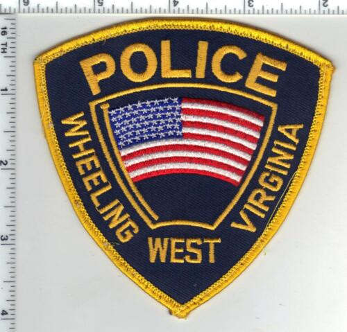 Wheeling Police (West Virginia) 2nd Issue Uniform Take-Off Shoulder Patch