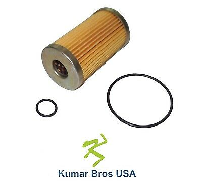 New Fuel Filter With O-rings Fits John Deere Mower 870 955 970 990 1070