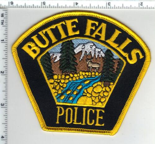 Butte Falls Police (Oregon) Shoulder Patch - new from the 1980