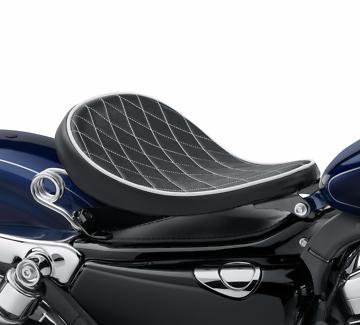 Harley Diamond pattern springer seat - for Sportster