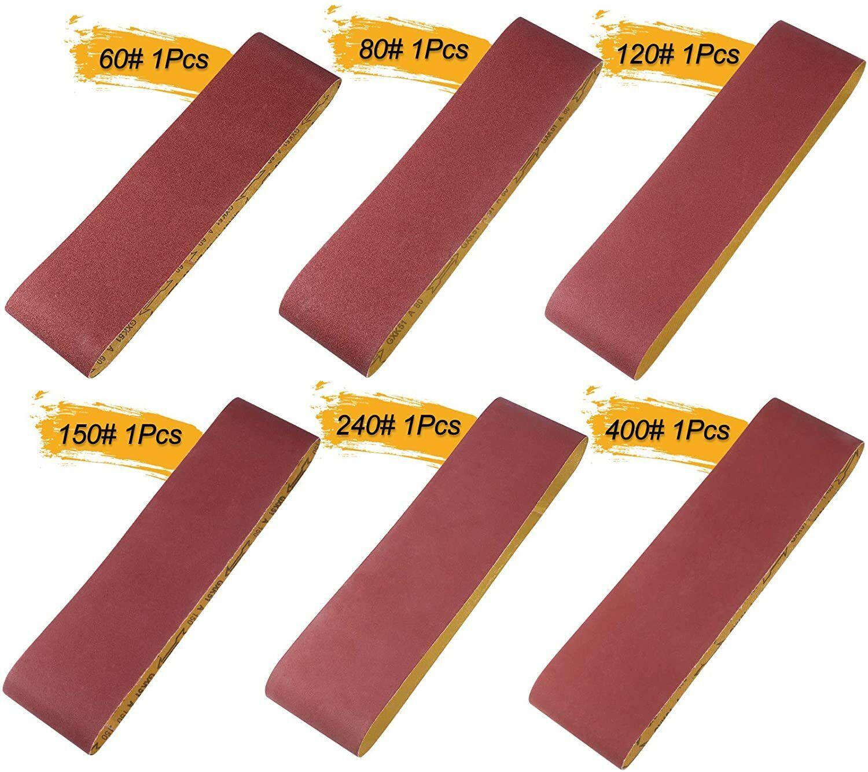 sanding belt 6 pc sander belt 648